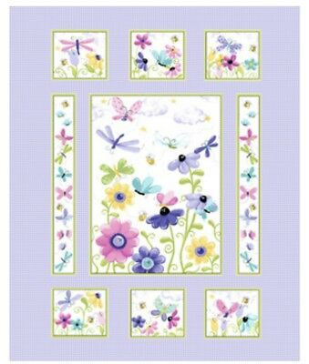 Susybee * Flutter The Butterfly Quilt Panel * New * Free Post * 🦋