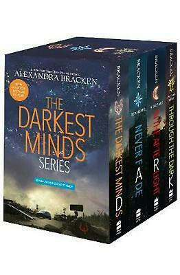 The Darkest Minds Series Boxed Set by Alexandra Bracken Hardcover Book Free Ship