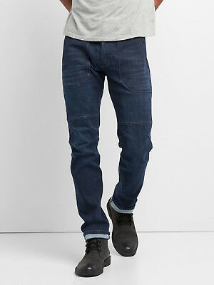 GAP 1969 Men's Performance Utility Jeans in Slim Fit with GapFlex NEW 34x32