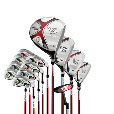 PGM Men's Complete Golf Club Set with Bag (9/13-Piece) Right free ship With bag