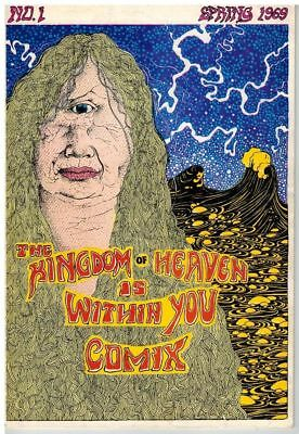 The Kingdom Of Heaven Is Within You Comix No. 1, 1969  Fine