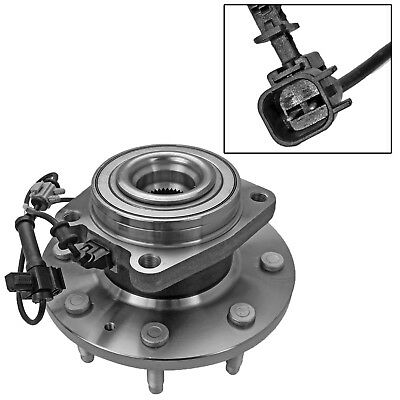 Front Wheel Hub Bearing Assembly for 2011-2016 Chevy GMC Sierra 2500HD 3500HD