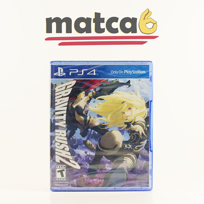 Gravity Rush 2 (PS4 Physical, PlayStation 4) - New/Sealed