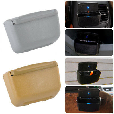 1x Home Auto Car Air Outlet Ashtray Multiuse LED Cigarette Smoke Remover Sightly