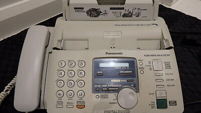 Panasonic Kx-Fp85 Phone Fax Answering Machine Digital Messaging Time Date Stamp