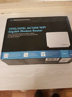 NETGEAR AC1600 Dual Band Gigabit WiFi Modem Router