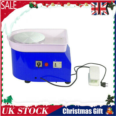 220V 350W Electric Pottery Wheel Machine For Ceramic Work Clay Art Craft 25CM