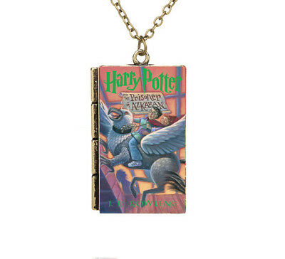 Miniature Harry Potter and the Prisoner of Azkaban TINY Book Pendant Necklace
