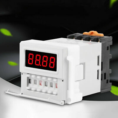 AC/DC 24-240V Digital Timing Delay Relay Module Cycle Timer Switch Delay Relay