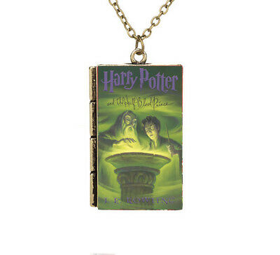 New Miniature Harry Potter and the Half Blood Prince TINY Book Pendant Necklace