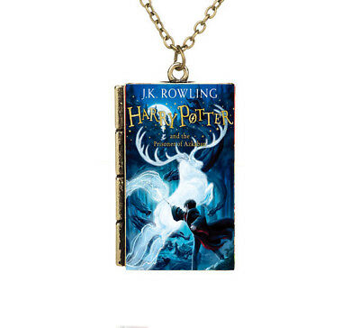 Miniature Harry Potter and the Prisoner of Azkaban TINY Book 2 Pendant Necklace