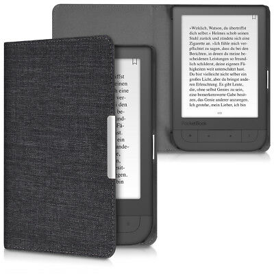 Hülle für Pocketbook Touch HD Touch HD 2 Stoff Klapphülle eReader Cover
