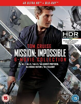 Mission: Impossible - The 6-movie Collection (4K Ultra HD + Blu-ray + Bonus Di