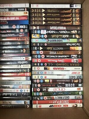 80 dvd wholesale bundle joblot carboot market mixed read discription