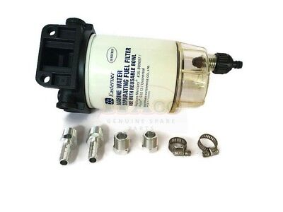 Boat Marine Outboard Fuel Filter Water Separator For Mercury 35-60494-1 Durable