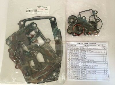 Gasket Kit replace For 15HP Yamaha Parsun Hidea 6E7-W0001-A1 A2 Stroke Outboard