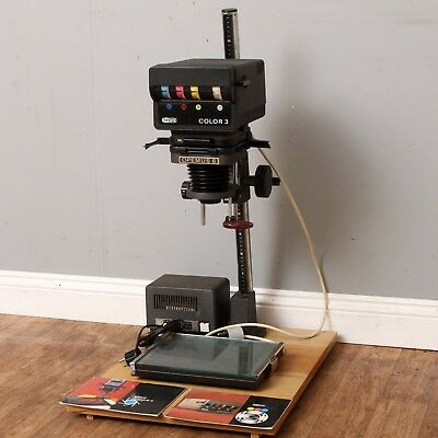 MEOPTA OPEMUS 6 B&W & Colour 3 Enlarger With Lens, Transformer & Contact Printer