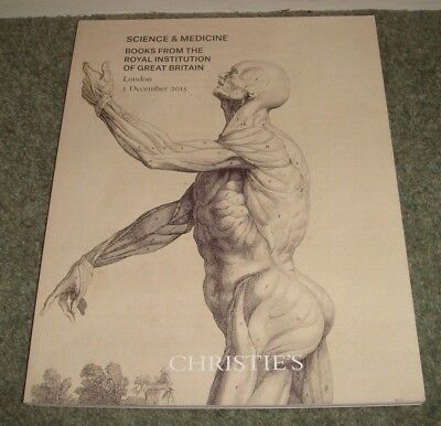 CHRISTIE'S London catalogue SCIENCE & MEDICINE Books Royal Institution 1/12/2015