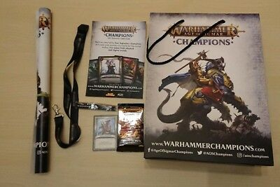 Warhammer Age of Sigmar TCG - Champions Booster - SPIEL '18 Essen PROMO Special