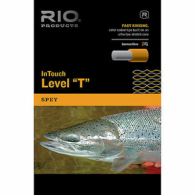 RIO InTouch Level T Fast Sinking TIPS - Level TUNGSTEN TIPS - 30ft Coils