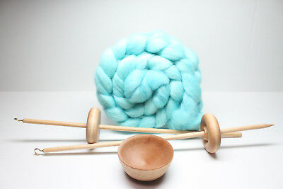 Top or Bottom Lace Weight Drop Spindle - Learn To Spin