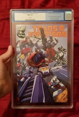 Transformers Generation 1 volume 1 #1 Autobot cover CGC 9.6 NM+ G1 Dreamwave