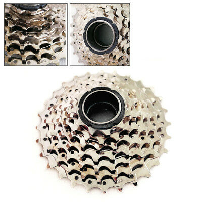 DNP 7-Speed Screw-on MTB Bike Freewheel Nickel Plate 11-28 Teeth SHIMANO SRAM