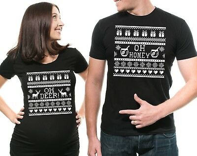 1feb06326f3ba Christmas Pregnancy Announcement Shirts Funny Maternity Shirts Baby Shower  Gifts