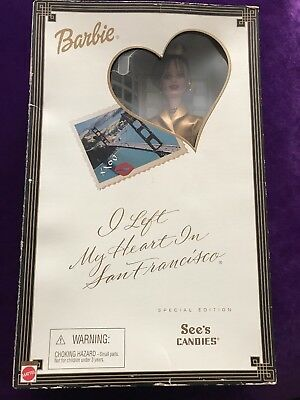 2001 Mattel Barbie Special Edition I Left My Heart In San Francisco Doll Nrfb