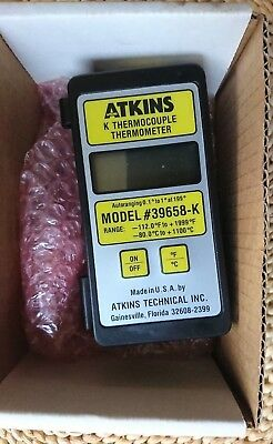 Atkins 396 Thermocouple Thermometer 39658-k