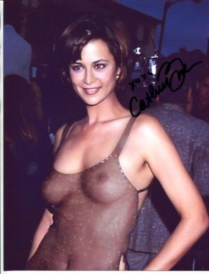 45f881515a3c8 JAG ACTRESS CATHERINE Bell autograph NO RESERVE B6495 -  76.00 ...