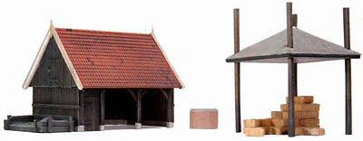 HO Roco Artitec Resin Building Kit Unassembled Unpainted #10.188 Shed
