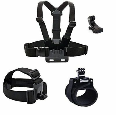 1X(Camera accessories Head strap Chest strap Hand band mount kit for gopro H7O1
