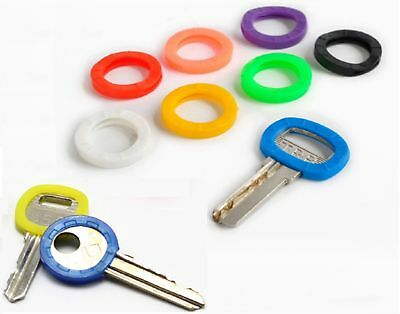 Key Top Covers Head Caps Rubber Id Mixed Colour Key Toppers