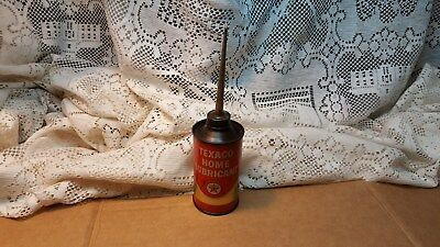 Vintage Texaco Home Lubricant Oil 3 Oz Can