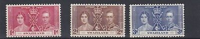 Swaziland   1932 - 46   Coronation  Set  Mnh