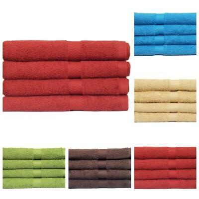 Set Of 2 & 4 Egyptian Jumbo Hand Towels,100% Pure Cotton, 50 X 100 Cm, 5 Colors