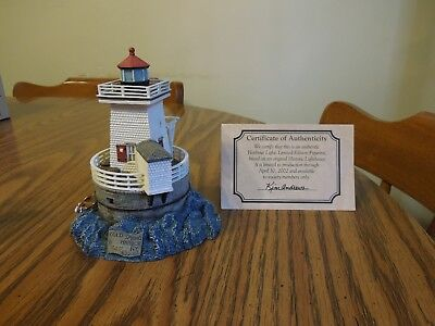 """Harbour Lights Society Exclusive Cold Spring Harbor #533 2001 #150? 5"""""""