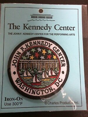 J.F. Kennedy Center for the Performing Arts Washington DC Souvenir Patch