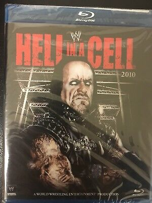 WWE Hell In A Cell 2010 Blu Ray (Brand New And Unopened)