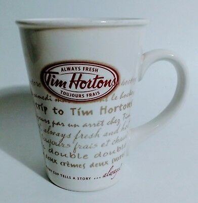 Limited Edition 2009 Tim Hortons Coffee Mug Every Cup Tells a Story Series 009