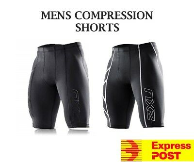 Mens Compression Shorts/Skins - AFL|Cycling|Athletics|Soccer|Rugby **BRAND NEW**