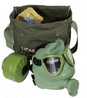 Yugoslavian Gas Mask - emergency disaster NBC survival NEW