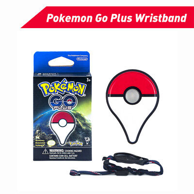 Wireless Pokemon Go Plus Bluetooth Bracelet Watch Game Accessory for Nintendo