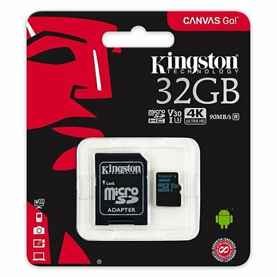 Kingston 32GB SDCG2 MicroSD Micro SD Class 10 UHS-I U3 V30 Flash Card 90MB/s