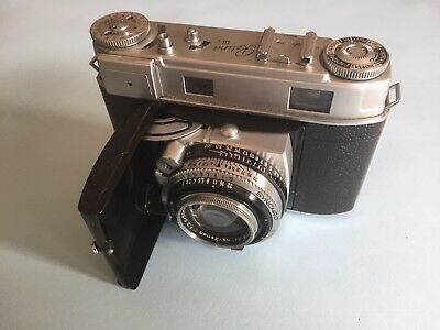 Vintage Kodak Retina IIIc 35mm German Camera with case and instruction manual