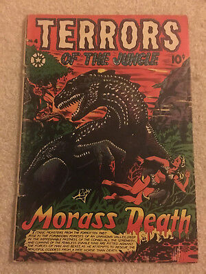 Terrors of the Jungle 4 Star Publications 1950's G/VG