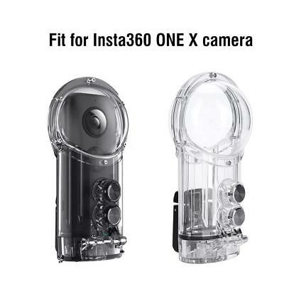 30m Underwater Housing Dive Waterproof Case for Insta 360 One X+Anti-fog Inserts