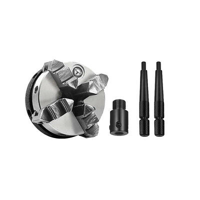 50mm Self-Centering Linkage Lathe Chuck Three / Four Claws for 8MM Shaft Motor