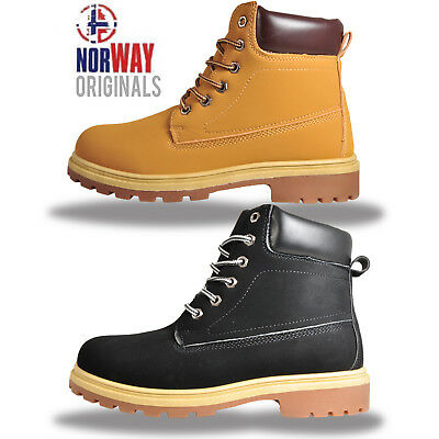 Mens Norway Originals Stealth Hiker Winter 6 inch Ankle Boots Only £14.99